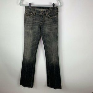 Citizens of Humanity Womens Low Waist Jeans Size 27 Mango #085 Stretch